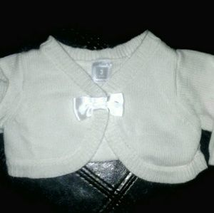 Carter's baby cardigan sweater